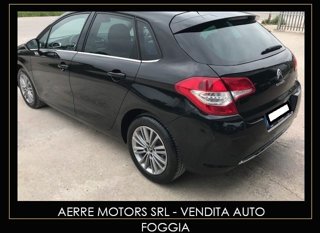 CITROEN C4 BERLINA EXCLUSIVE 1.6 95CV pieno